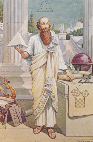 Pythagoras by John Augustus Knapp